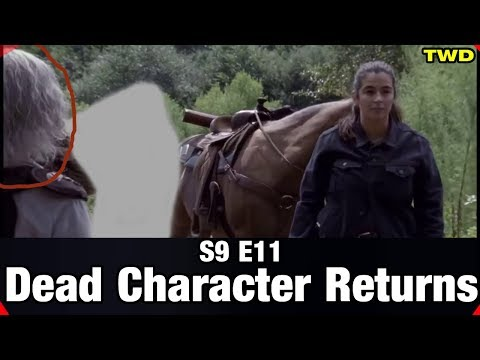 TWD S9 E11 Dead Character Returns - Opening Minutes