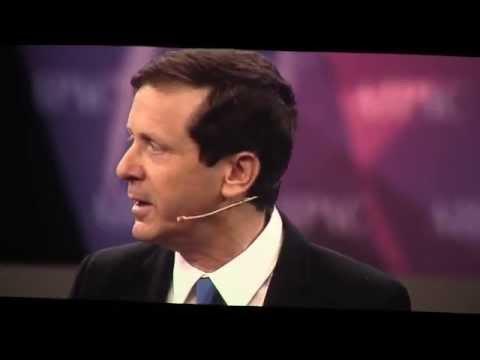Israeli challenger, Isaac Herzog, interviews with David Horovitz (Times of Israel) at AIPAC