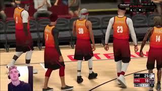 Cut The Check vs New Lane 99 Dunk Glitch ruining Pro-Am? NBA 2k Comp Games