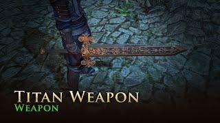 Path of Exile: Titan Weapon Skin