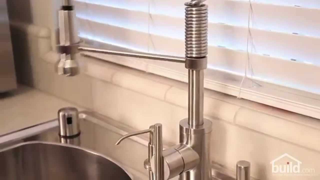 Review Of Danze D455158 Kitchen Faucet Youtube