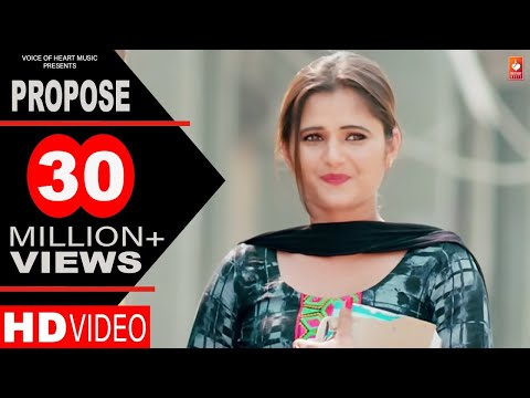 Propose | Amit Dhull | Anjali Raghav | Latest Haryanvi Songs Haryanavi 2018 | Most Popular DJ Songs