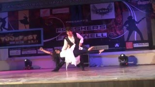 Best Salsa Performance by Rucha Dhote and Nikhil Chandak performing DANCE in YCCE 13.0