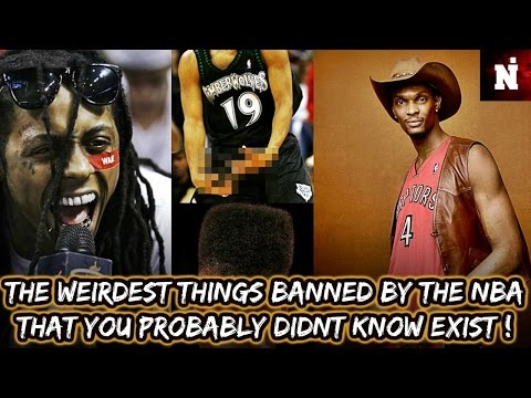 The Weirdest Things Banned By The NBA You Didn't Know Exist!