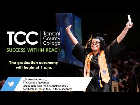 Tarrant County College Graduation