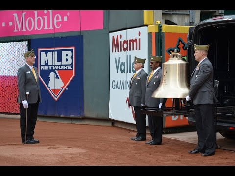 Honor Bell Tolls at Reds Game