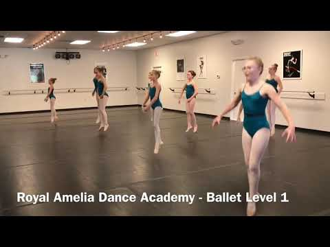 Ballet Level 1 at Royal Amelia Dance Academy