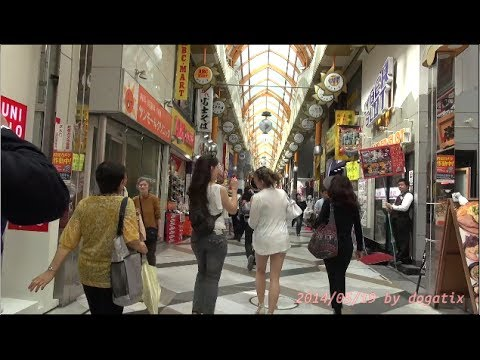 Japan Trip 2014 Tokyo Walking Nakano Sun Mall Shōtenkai Street