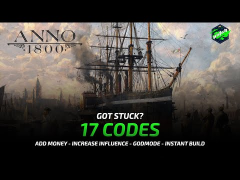 ANNO 1800 Cheats: Add Money, Full Expedition Morale, Fill Resources, ... | Trainer By MegaDev