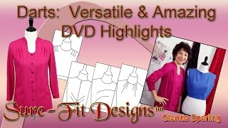 How to Design with Darts – a new DVD  tutorial by Sure-Fit Designs™