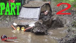 TO DEEP?! ATV MUD AND RAIN PART 2! CAMPING WEEKEND thumbnail