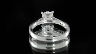 PR1003   Diamond solitaire engagement ring