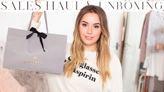 JANUARY SALES HAUL UNBOXING + TRY ON | Style | Hello October