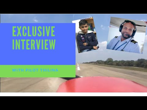 Exclusive interview with Pilot Thilina Fernando | General Aviation Pilot