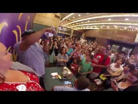 Genie Grants Wishes at ALADDIN Broadway Lottery