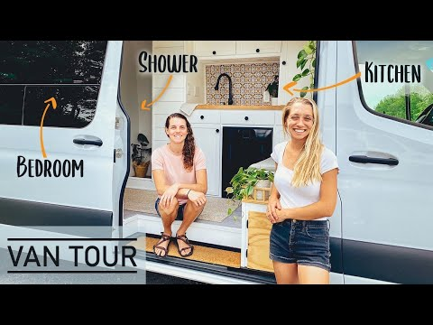 VAN TOUR | A Photographer & Travel Consultant Live FullTime On The Road