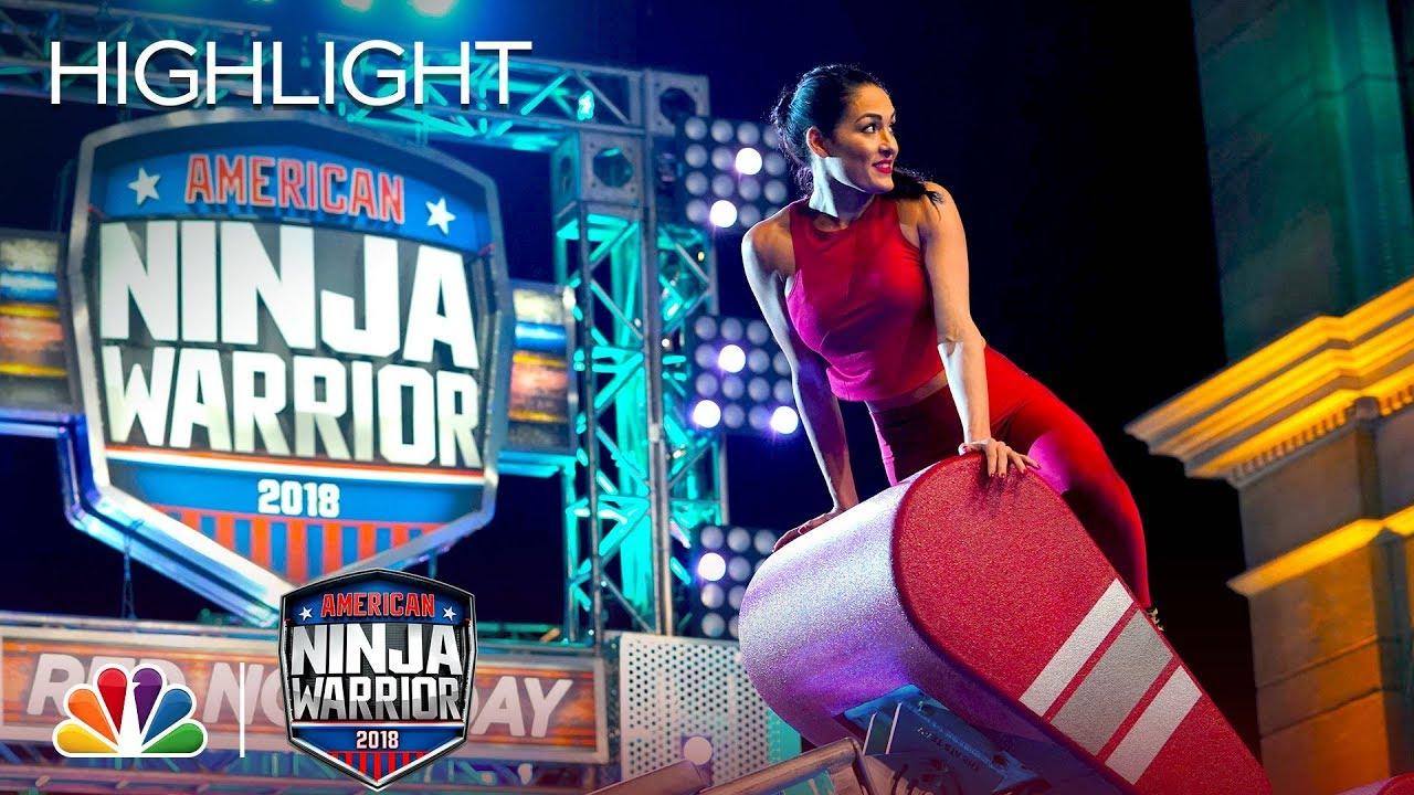Download Nikki Bella's Ninja Warrior Run for Red Nose Day - American Ninja Warrior 2018