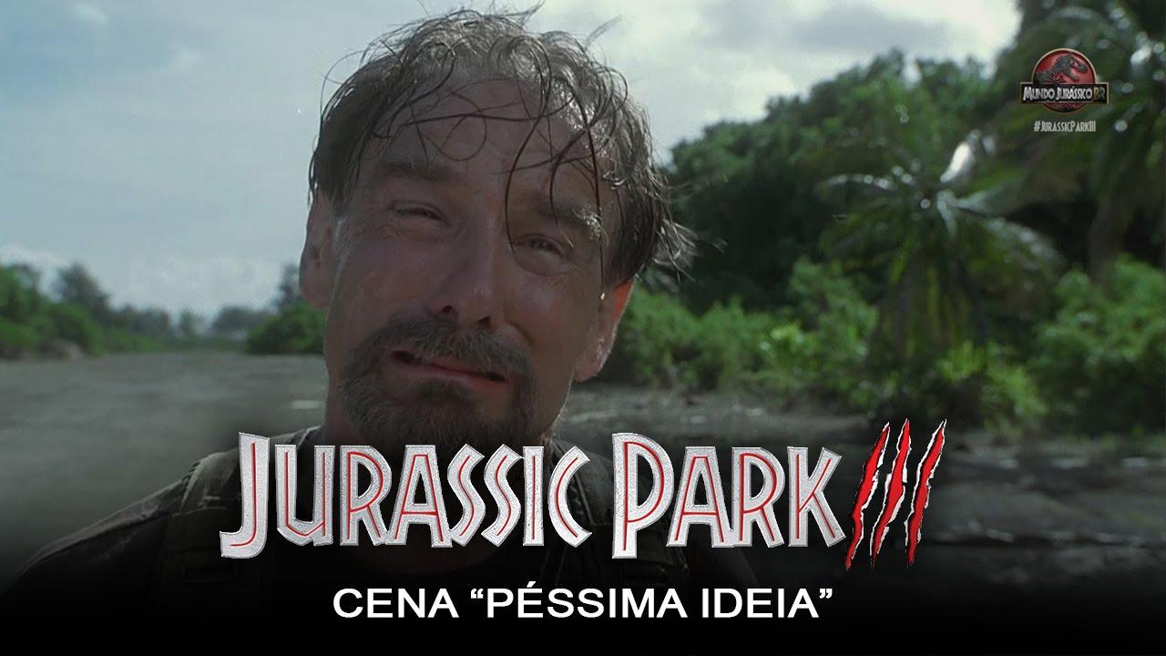 Jurassic Park Iii Cena Pessima Ideia Dublado Hd Youtube