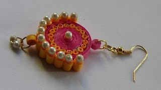 Quilling Paper Jewellery Ear Ring..........Tutorial