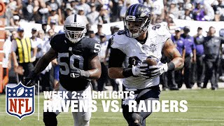 Ravens vs. Raiders | Week 2 Highlights | NFL