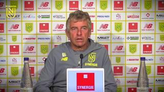 Christian Gourcuff avant FC Nantes - Stade de Reims