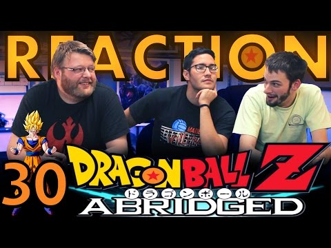 TFS DragonBall Z Abridged REACTION!! Episode 30 3/3