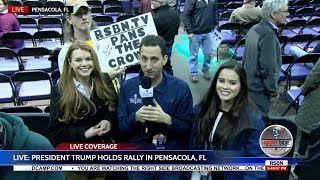 🔴 WATCH: President Donald Trump MASSIVE Rally in Pensacola, FL 12/8/17