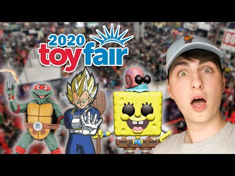 What's Inside NY Toy Fair 2020? | Funko, NECA, FiGPiN and More!