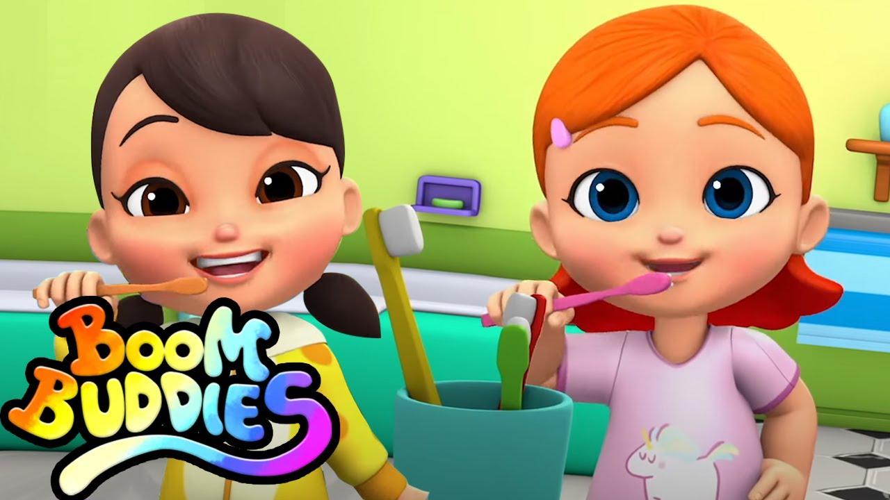 Esta es la forma   Canciones infantiles   Videos para bebes   Boom Buddies Español   Educación