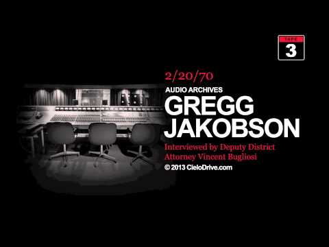 Audio Archives: Gregg Jakobson interviewed by Vincent Bugliosi, February 20, 1970 -- Tape Three