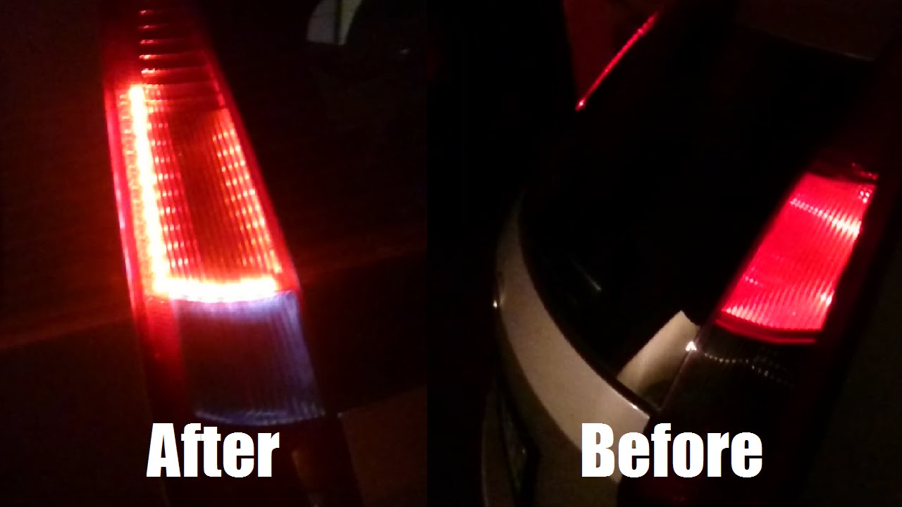Diy led tail lights conversion youtube solutioingenieria Images