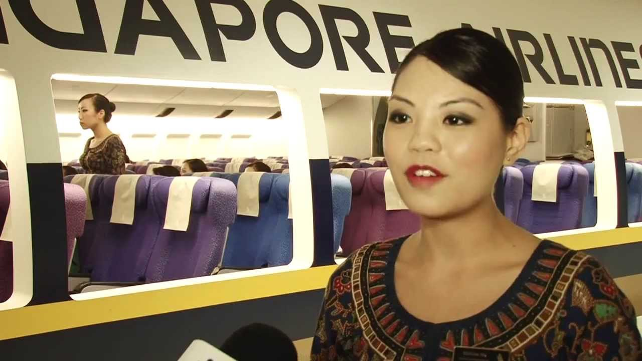 sia cabin crew training - youtube