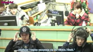Baixar [napisy PL] 140110 - EXO - Sukira Kiss the Radio - Chanyeol, Sehun, D.O