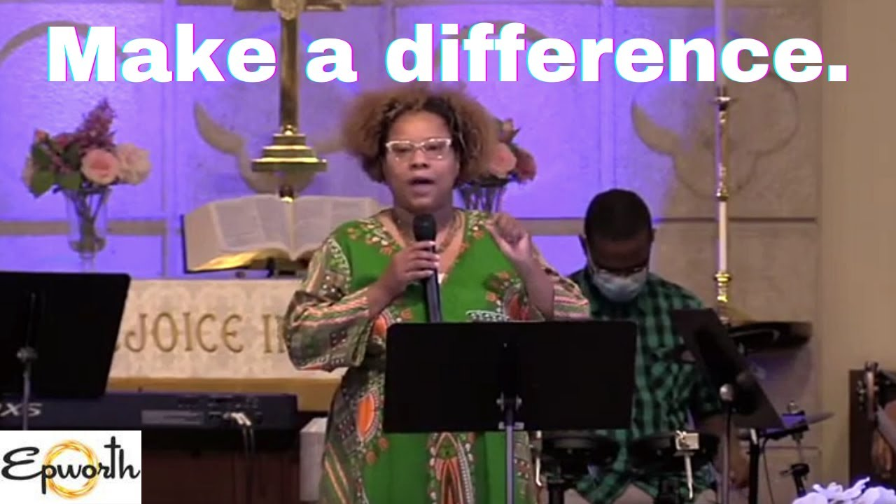 """"""" I am a difference-maker """" 