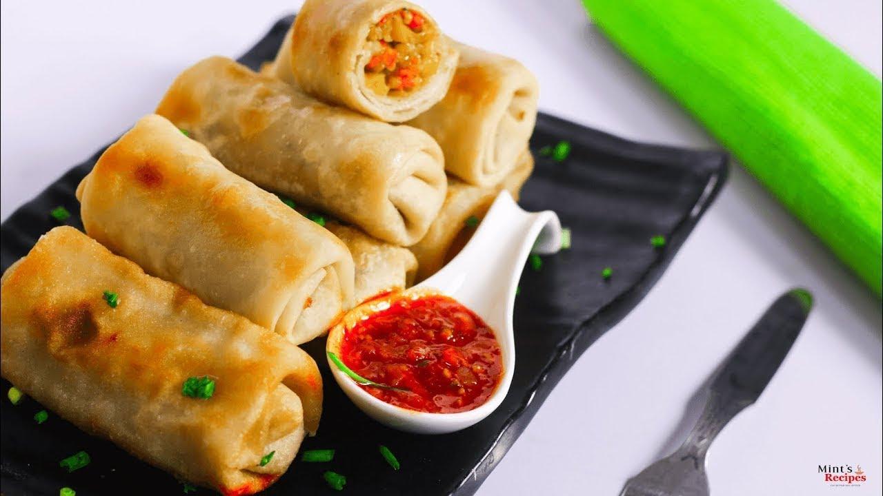 veg veg spring rolls recipe breakfast recipes forumfinder Image collections