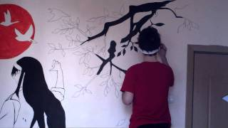 Wall drawing [second part ]