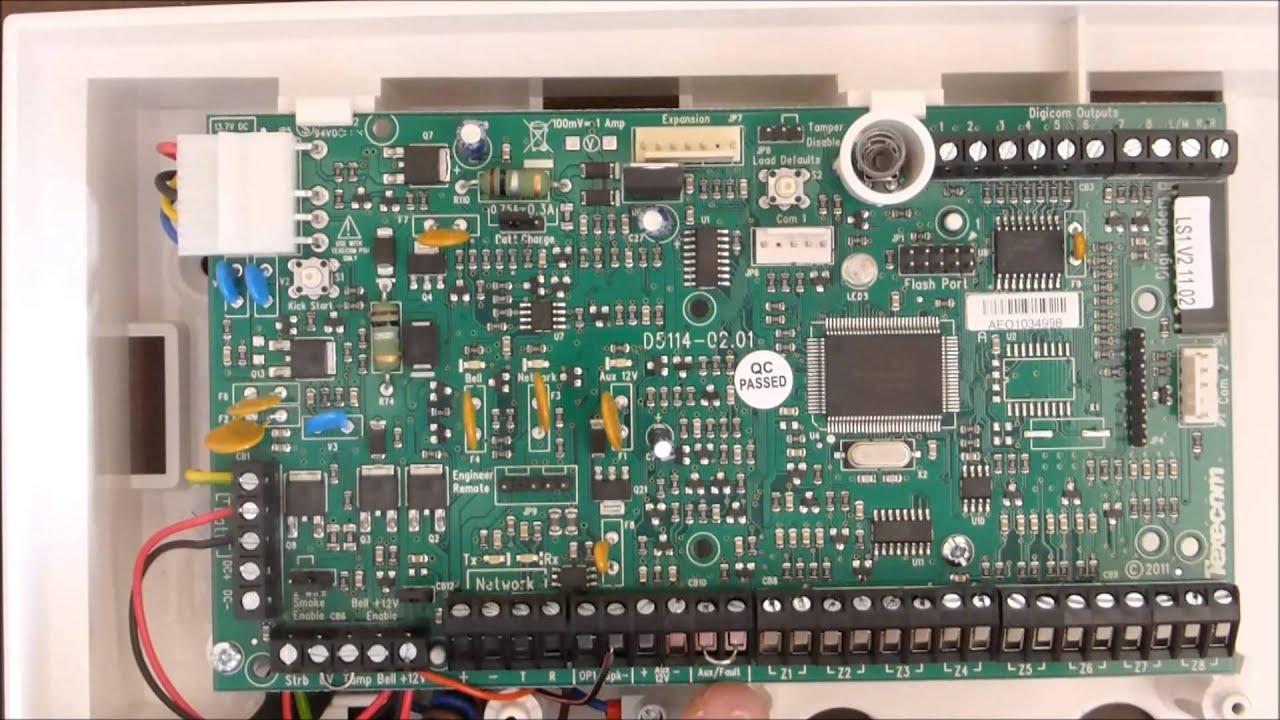 Wiring Tamper Circuit Alarm