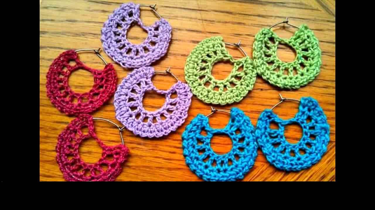 Crochet Earrings Free Patterns Youtube