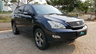 Toyota Harrier 240 Basic 2.4 A/T In Depth Review Indonesia Ft. Lugnutz Auto Junkie