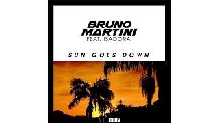 Video Bruno Martini - Sun Goes Down (Audio) ft. Isadora download MP3, 3GP, MP4, WEBM, AVI, FLV Juli 2018