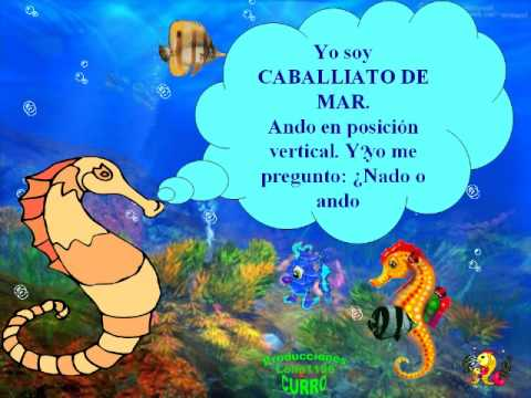 Infantil ANIMALES DEL MAR. - YouTube