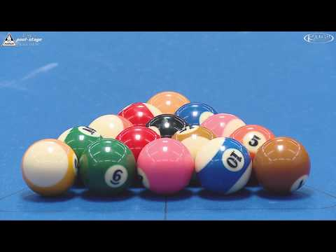 Stuttgart Open 2017, No. 16, Showmatch, Auer & Ludwig vs. Laszkowski & Eckert, 8-Ball, Pool-Billard