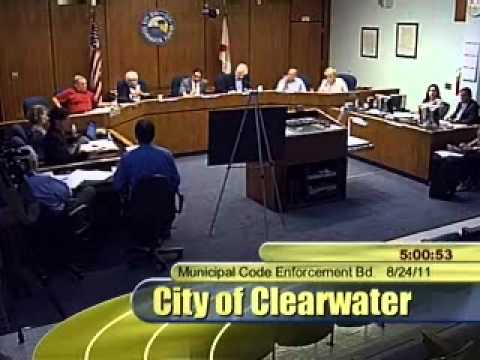 Scientology Fined $413,500 (Clearwater Municipal Code Enforcement Board hearing - Aug 24, 2011)