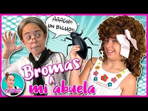 😱 BROMAS DIVERTIDAS y GRACIOSAS!! 😂 ESPANTANDO a mi ABUELA!! 👵 Las MEJORES BROMAS para NIÑOS!!