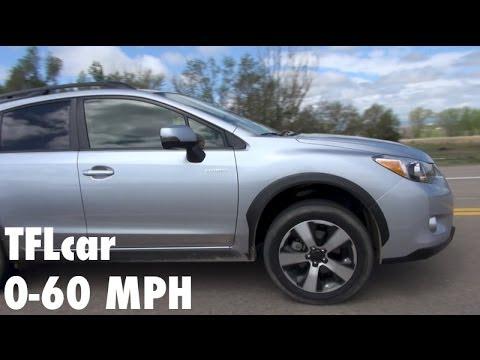 2014 subaru crosstrek xv hybrid 0 60 mph test does awd hybrid slow youtube. Black Bedroom Furniture Sets. Home Design Ideas