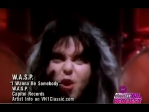 W.A.S.P. - I Wanna Be Somebody 1984 (Official Video)
