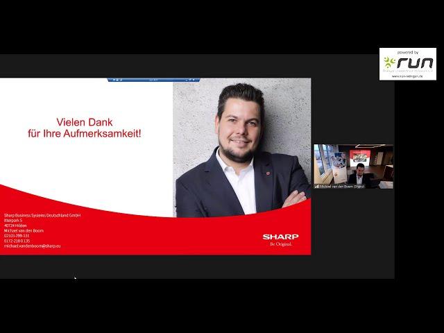 run präsentiert: Michael van den Boom von Sharp - Sharp Optimised Scan