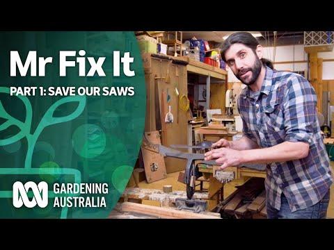 Restoring Old Tools | Mr Fix It | Gardening Australia