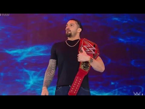 Roman Reigns Best Entry Ever With Mysterious BGM|WWE Roman Reigns|WWE The Shield|WWE