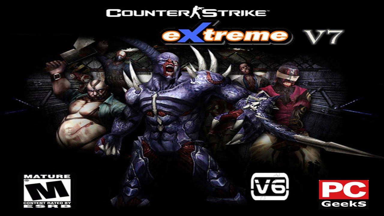 تحميل لعبة counter strike xtreme v7